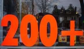 200 plus